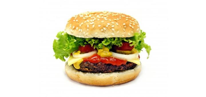 Burger - acne preventing foods